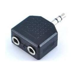 Adaptador Plug 3.5mm Estéreo a 2 Jack 3.5mm Estéreo