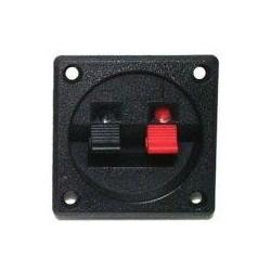 Conector Speaker 2 Terminales Cuadrado