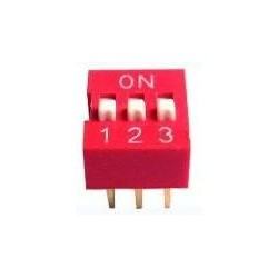 DIP Switch 3 Posiciones