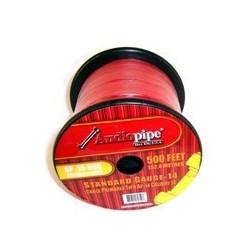 Cable Automotriz Calibre 14 Rojo x metro
