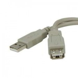 Cable Usb A Macho A Hembra 3 Mts