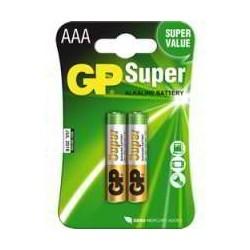 Baterías Alcalinas AAA - GP