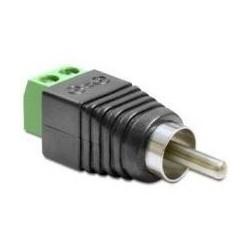 Adaptador Plug RCA a Bornera