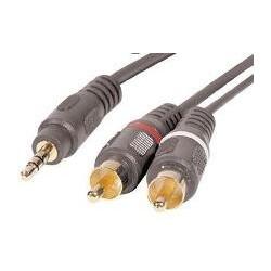 Cable 3.5mm Estéreo a 2 RCA