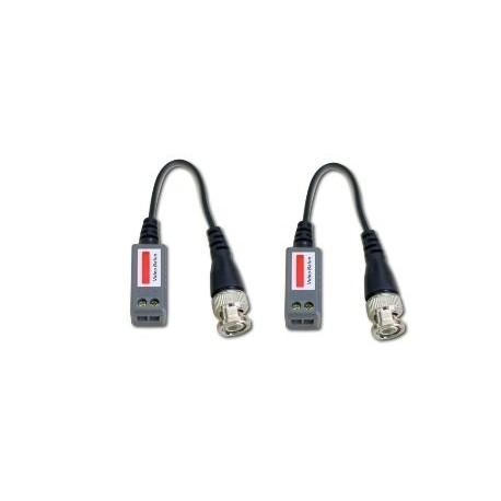 Video Balun Con Cable (Par)