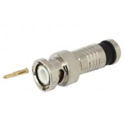 Conector BNC para RG6 - Compresión