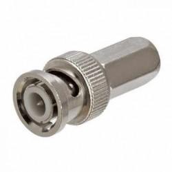 Conector BNC RG6 - Autoroscante