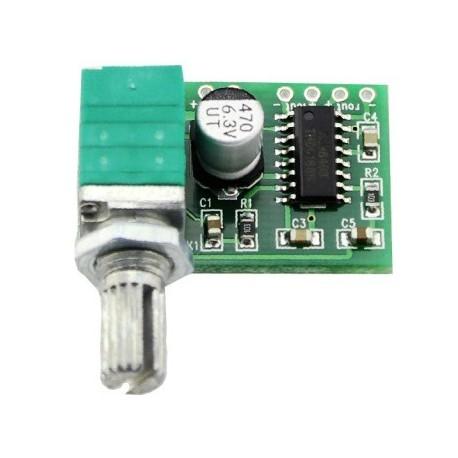 Mini Amplificador de Audio Estereo 3W
