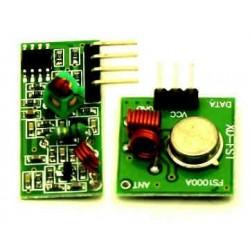 Kit de Transmisor-Receptor RF 433Mhz