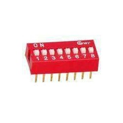 DIP Switch 8 Posiciones
